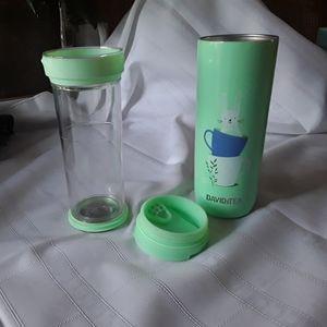 😁24 HR SALE😁  EUC Davids Tea/Infuser Set